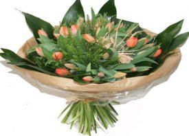 זר טוליפים מיוחד, פרחים פרדס חנה
