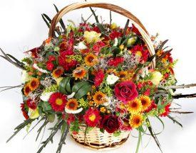 סידור פרחים מרהיב מפרחי שדה