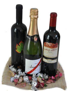 מארז יינות ושמפניה
