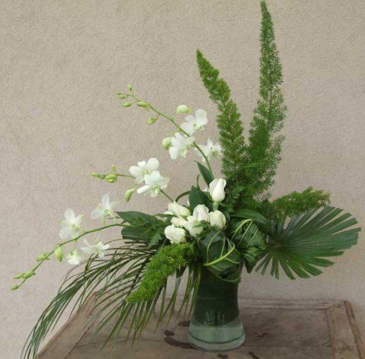 סידור פרחים מיוחד מסחלבים