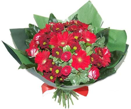 זר אהבה - שדה פרחים