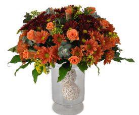 סידור פרחים על ווזה