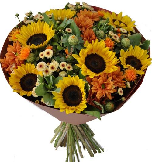 זר מהכפר - שדה פרחים משלוחי פרחים