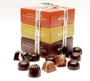 3 מארזי שוקולד