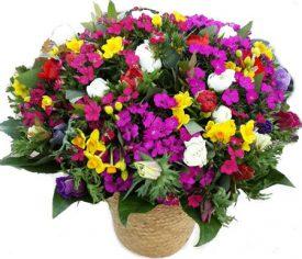זר חורף - שדה פרחים