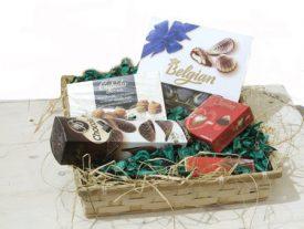 סלסלת שוקולדים איכותית