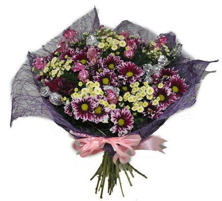 פרחים ושוקולד