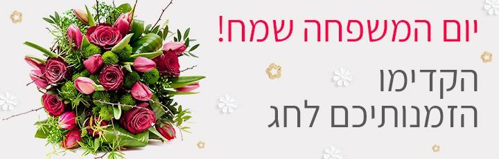 יום משפחה - שדה פרחים